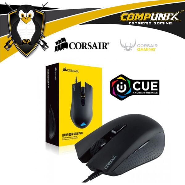 MOUSE GAMER CORSAIR HARPOON RGB PRO 12K DPI