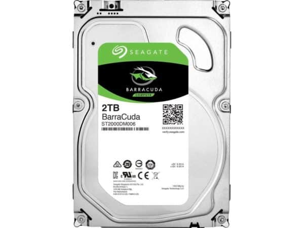 DISCO DURO SEAGATE BARRACUDA 2TB PC A