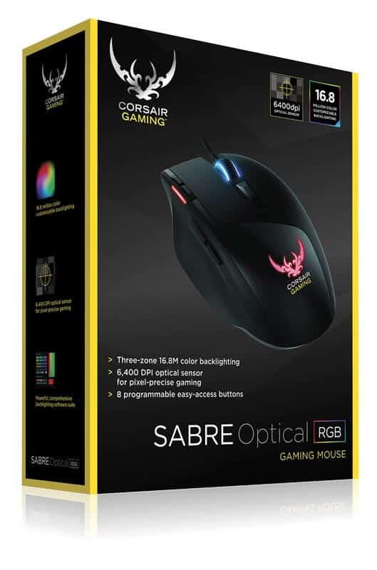 Mouse Gamer Corsair Sabre Optico A