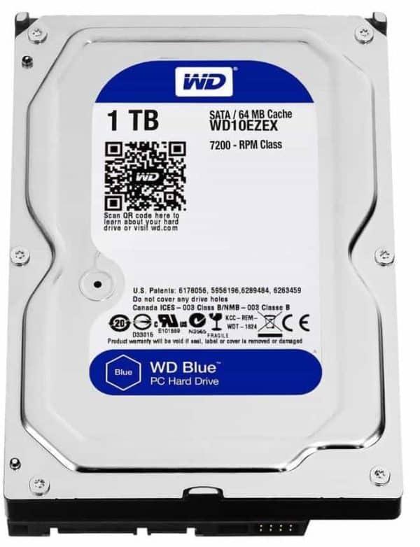 DISCO DURO WD10EZEX BLUE 1TB PC A
