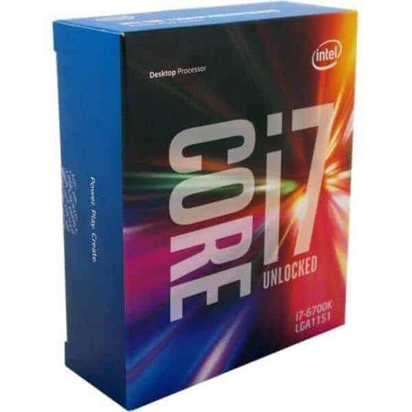 Procesador Intel Core I7-6700k 4,0ghz A