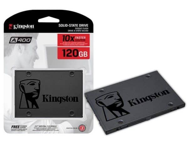 DISCO SÓLIDO SSD KINGSTON A400 120GB SATA III A