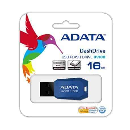 PENDRIVE ADATA UV100 16GB USB C