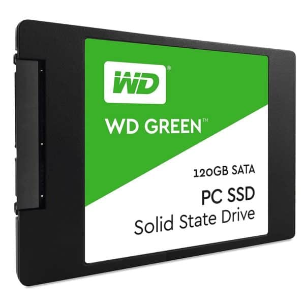 SSD WESTERN DIGITAL GREEN 120GB SATA C