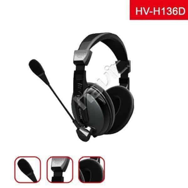 AUDIFONO CON MICROFONO HAVIT HV-H136D B