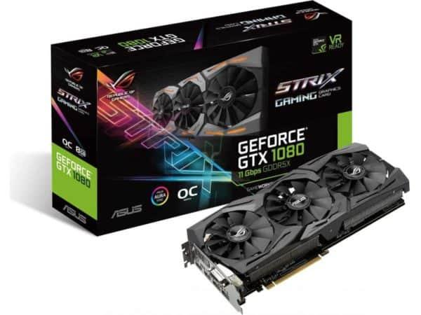 ASUS ROG STRIX GTX1080 O8GB 11GBPS B
