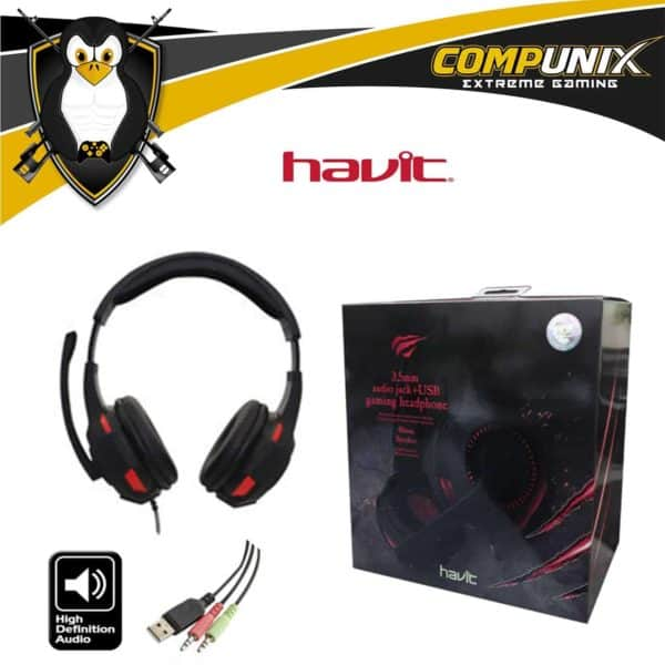 AUDIFONO CON MICROFONO GAMER HAVIT HV-H2213D
