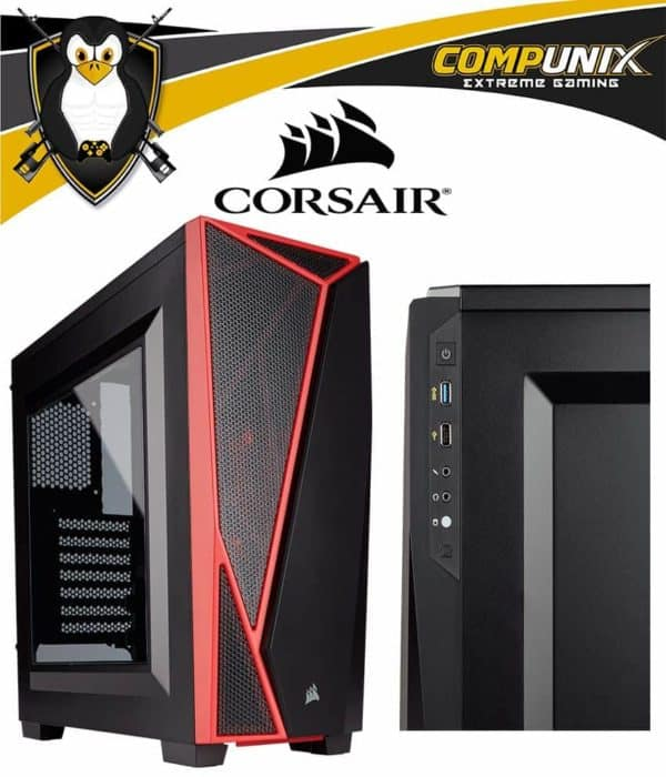 CASE CORSAIR CARBIDE SPEC 04 RED