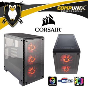 CASE GAMER CORSAIR CRYSTAL 460X RGB COMPACT
