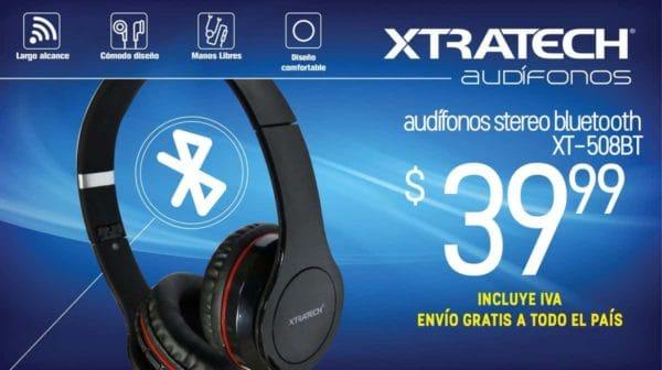 Audifonos Bluetooth Xtratech XT-508BT C