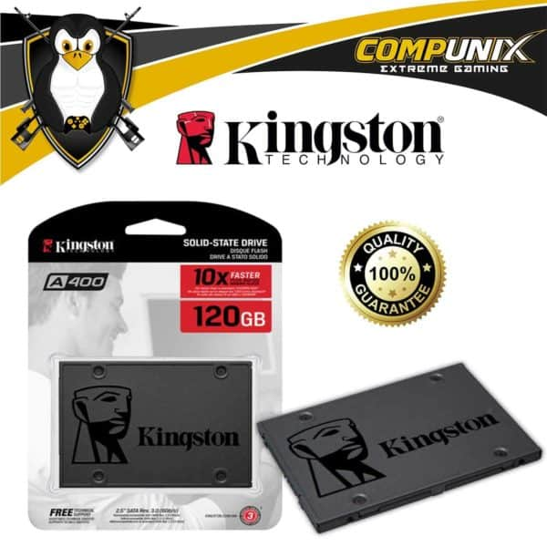 DISCO SÓLIDO SSD KINGSTON A400 120GB SATA III