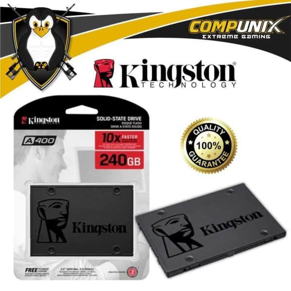 DISCO SÓLIDO SSD KINGSTON A400 240GB SATA III