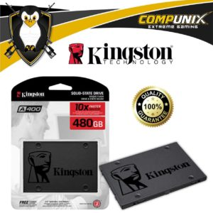 DISCO SÓLIDO SSD KINGSTON A400 480GB SATA III