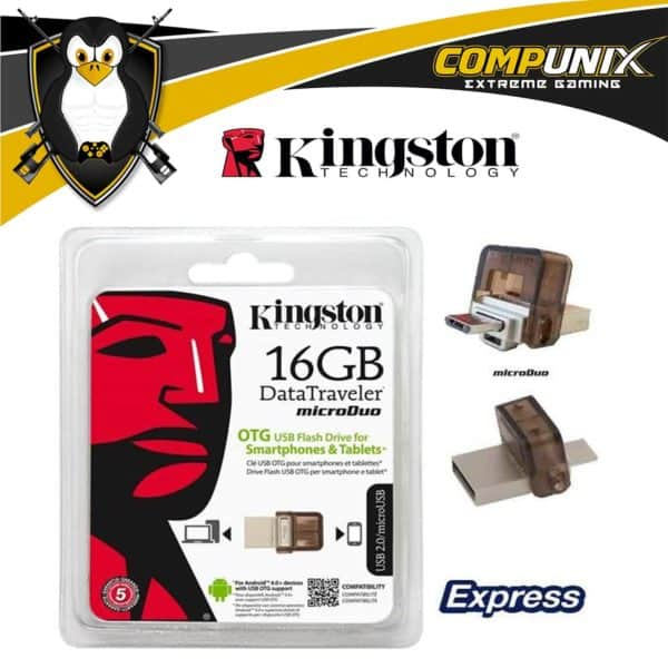 Flash Memory Kingston DT Duo 16GB A