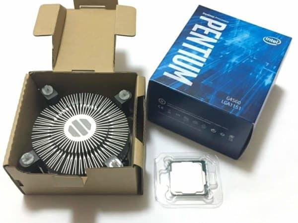 Procesador Intel Pentium G4560 3.5Ghz 4 Hilos D