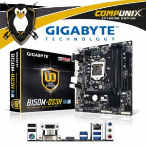 Motherboard Gigabyte B150M-DS3H DDR4 A