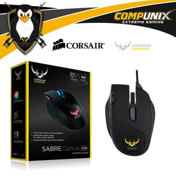 Mouse Gamer Corsair Sabre Optico