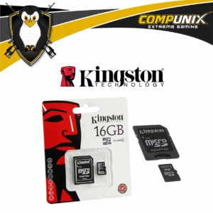 Memoria Micro SD Kingston 16GB C10 A