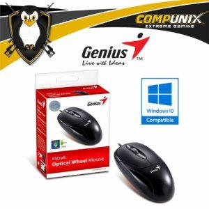 Mouse Optico Genius USB Xcroll Negro A