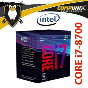 PROCESADOR INTEL CORE I7-8700 4.6GHZ
