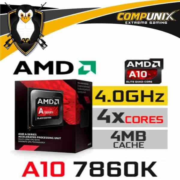 Procesador Amd Apu A10-7860k 4.0GHZ