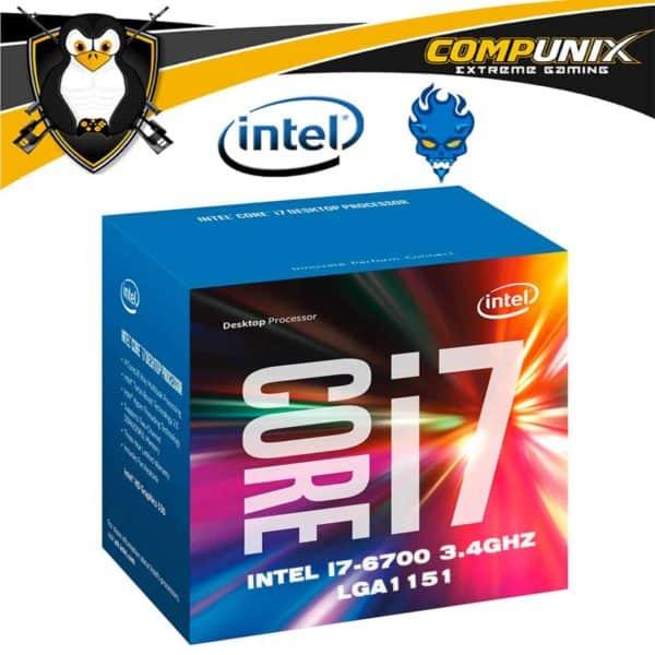 Procesador Intel Core I7-6700