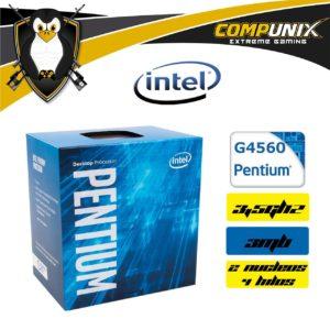 Procesador Intel Pentium G4560 3.5Ghz 4 Hilos