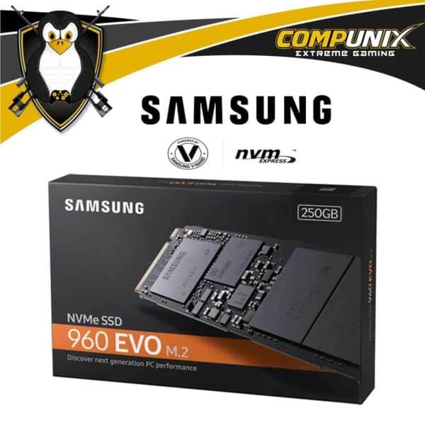SSD NVMe SAMSUNG EVO M.2 250GB