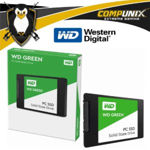 SSD WESTERN DIGITAL GREEN 120GB SATA
