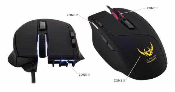 Mouse Gamer Corsair Sabre Optico C