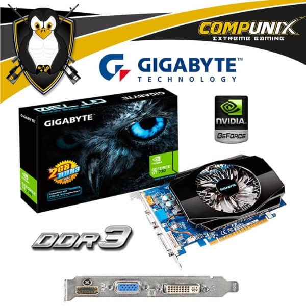 VIDEO GIGABYTE GT730 2GB