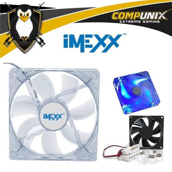Ventilador PC Imexx 120mm LED A