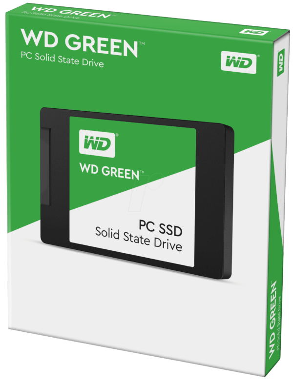 SSD WESTERN DIGITAL GREEN 120GB SATA B