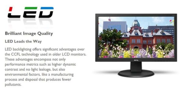 Monitor BenQ LED DL2020 VGA B