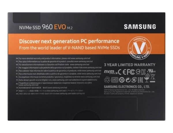 SSD NVMe SAMSUNG EVO M.2 250GB B