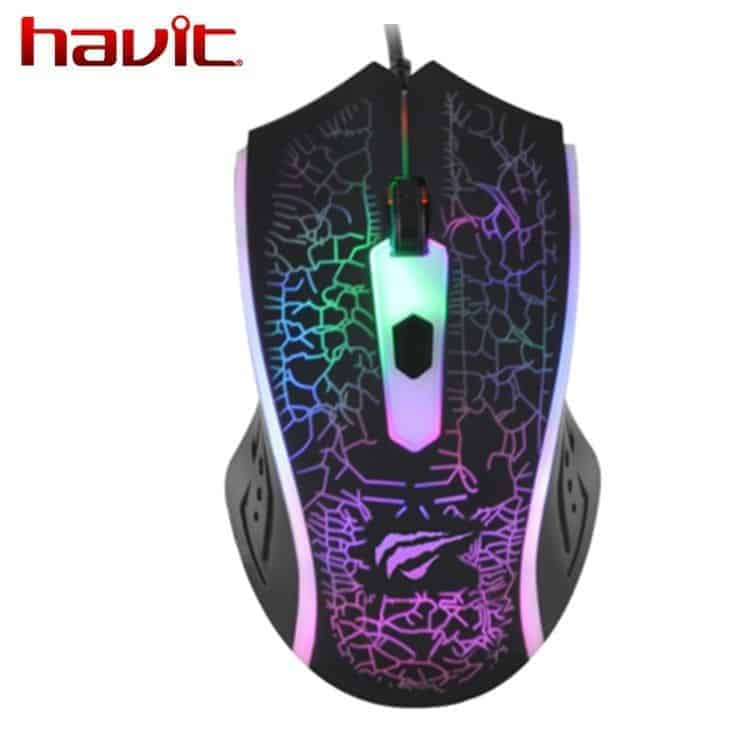MOUSE GAMER HAVIT HV-MS736 LED 1200DPI A
