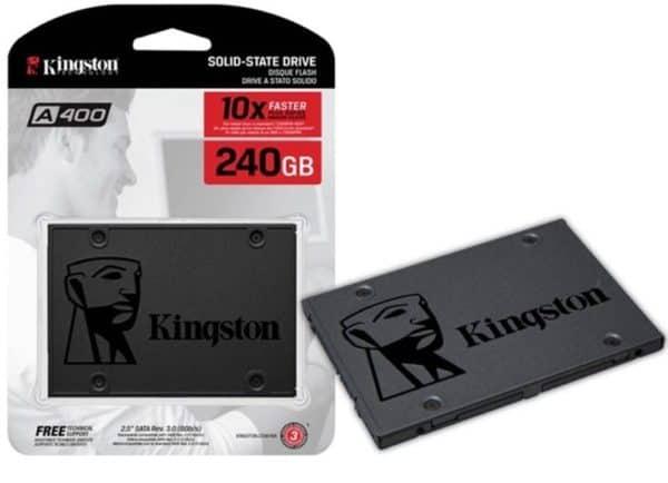 DISCO SÓLIDO SSD KINGSTON A400 240GB SATA III A
