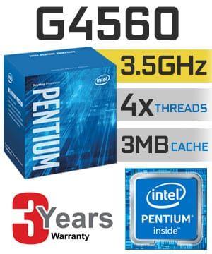Procesador Intel Pentium G4560 3.5Ghz 4 Hilos E