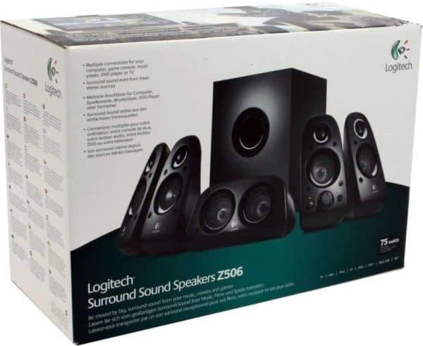 Parlantes Logitech Z506 C