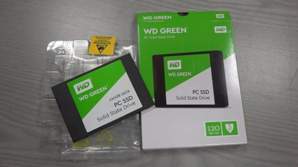 SSD WESTERN DIGITAL GREEN 120GB SATA E