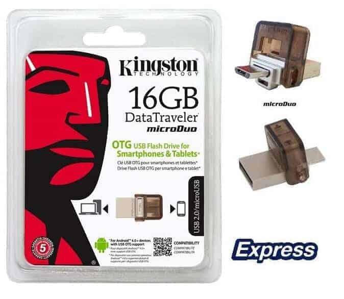 Flash Memory Kingston DT Duo 16GB B