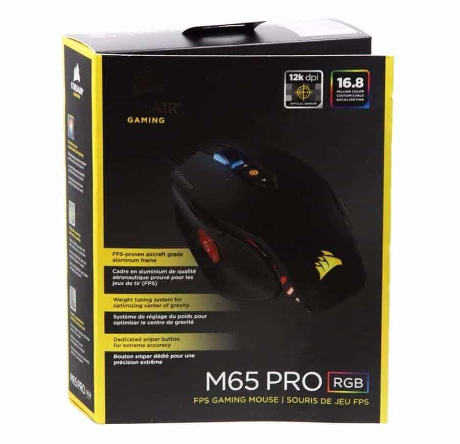 MOUSE CORSAIR M65 PRO RGB BLACK A
