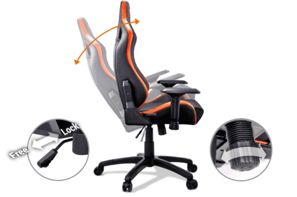 SILLA GAMER HAVIT HV-GV901 F