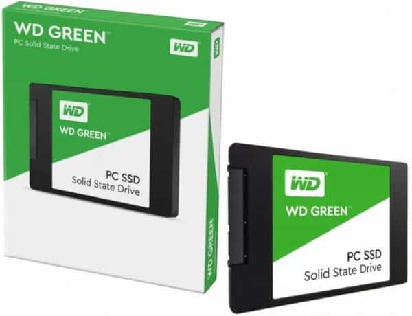 SSD WESTERN DIGITAL GREEN 120GB SATA A