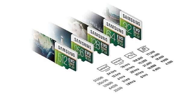 MEMORIA SAMSUNG EVO MICRO SDXC 128GB UHS 3 CLASS 10 F