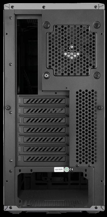 CASE CORSAIR GRAPHITE 230T BLACK LED RED F