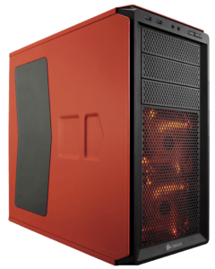 CASE CORSAIR GRAPHITE 230T ORANGE LED RED A