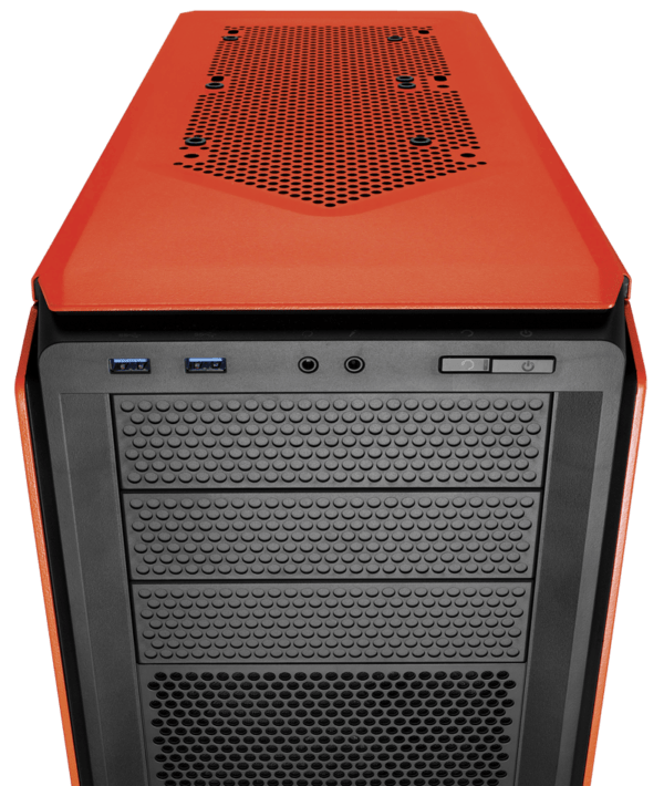 CASE CORSAIR GRAPHITE 230T ORANGE LED RED C