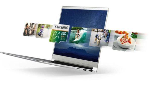 MEMORIA SAMSUNG EVO MICRO SDXC 64GB UHS 1 CLASS 10 U3 E