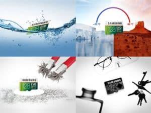 MEMORIA SAMSUNG EVO MICRO SDXC 128GB UHS 1 CLASS 10 U3 E